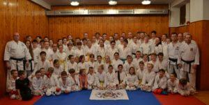 Zimní přípravné soustředění karate Libá