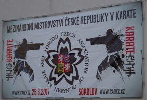 CAOKK Czech karate open 2017 - International open Championship of Czech Republic in karate CAOKK