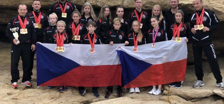 Mistrovství Evropy WUKF Malta 2018